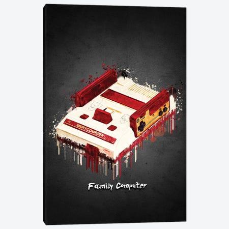 Family Computer Acrylic Canvas Print #GFN437} by Gab Fernando Canvas Art