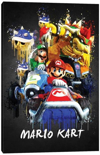 Mario Kart Canvas Art Print