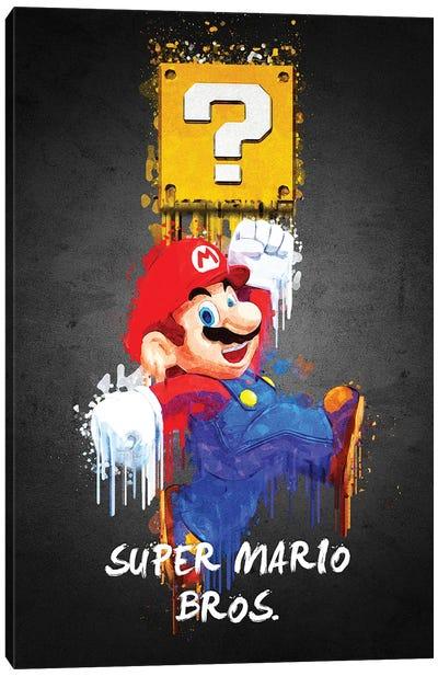Mario Canvas Art Print