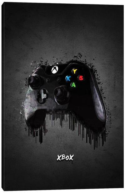 Xbox Controller Canvas Art Print