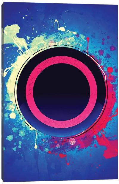 Playstation Circle Canvas Art Print