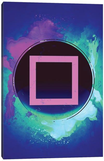 Playstation Square Canvas Art Print