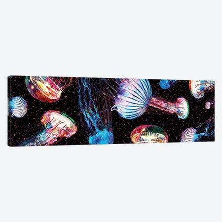 Jellyfish Canvas Print #GFN480} by Gab Fernando Canvas Wall Art