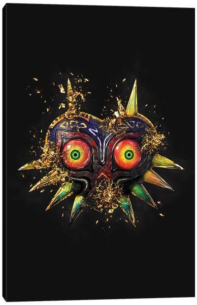 Link Mask Canvas Art Print