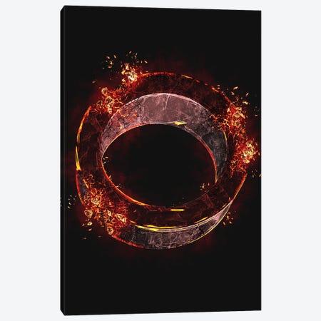 Playstation Circle Broken Canvas Print #GFN507} by Gab Fernando Canvas Art