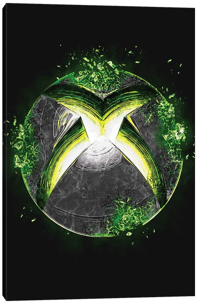 Xbox Logo Canvas Art Print