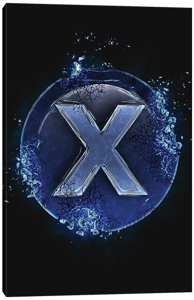 Xbox X Broken Canvas Art Print