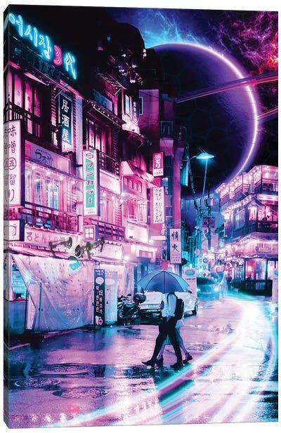 Tokyo 2077 Canvas Art Print