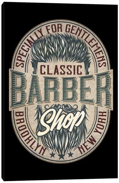 Barber IX Canvas Art Print