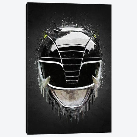 Black Ranger Canvas Print #GFN614} by Gab Fernando Canvas Art
