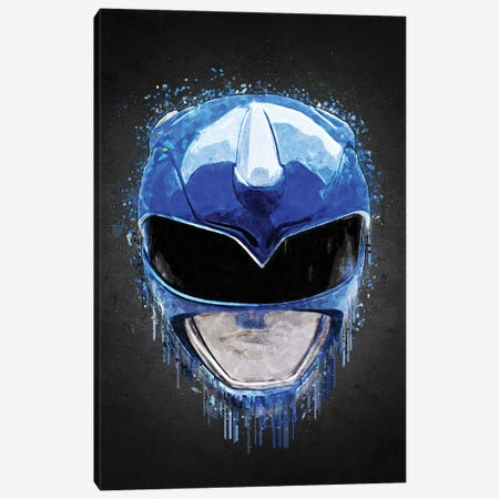 Blue Ranger Canvas Print #GFN615} by Gab Fernando Canvas Artwork