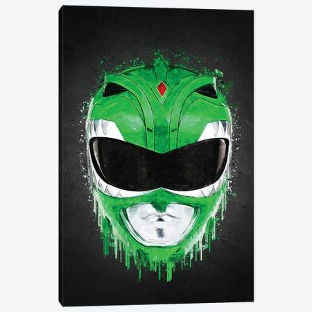 Green Ranger Canvas Print #GFN618} by Gab Fernando Art Print