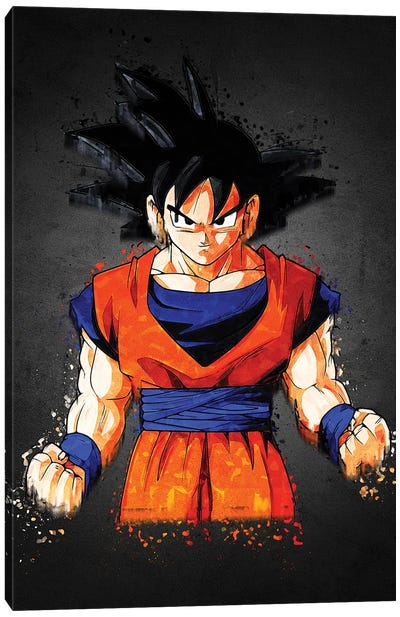 Acrylic Goku Canvas Art Print