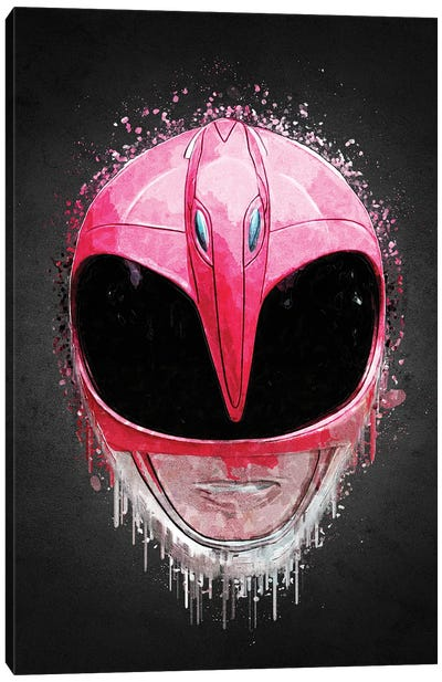 Pink Ranger Canvas Art Print