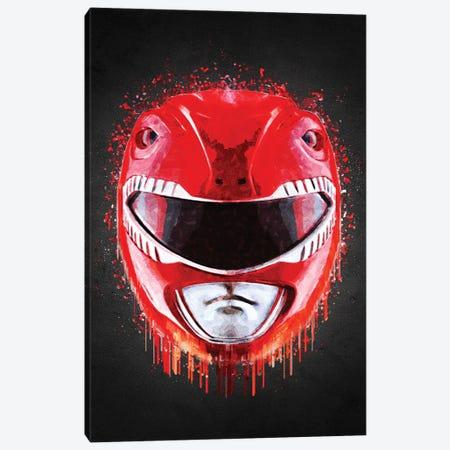Red Ranger Canvas Print #GFN630} by Gab Fernando Art Print