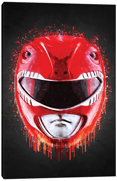 Red Ranger Canvas Art Print