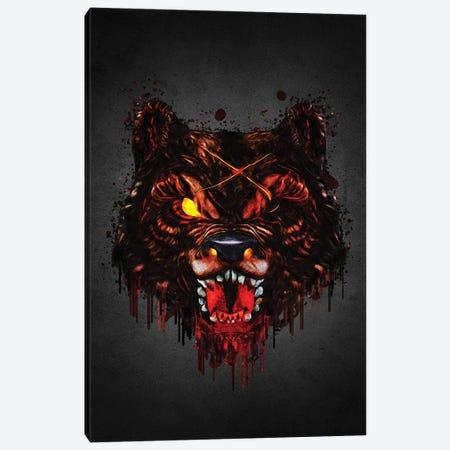 Warewolf Canvas Print #GFN637} by Gab Fernando Canvas Wall Art