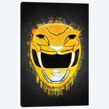 Yellow Ranger Canvas Print #GFN639} by Gab Fernando Art Print