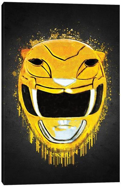 Yellow Ranger Canvas Art Print