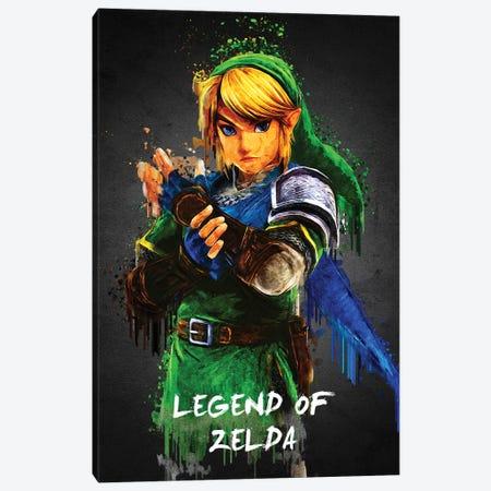 Legend Of Zelda Canvas Print #GFN64} by Gab Fernando Canvas Wall Art