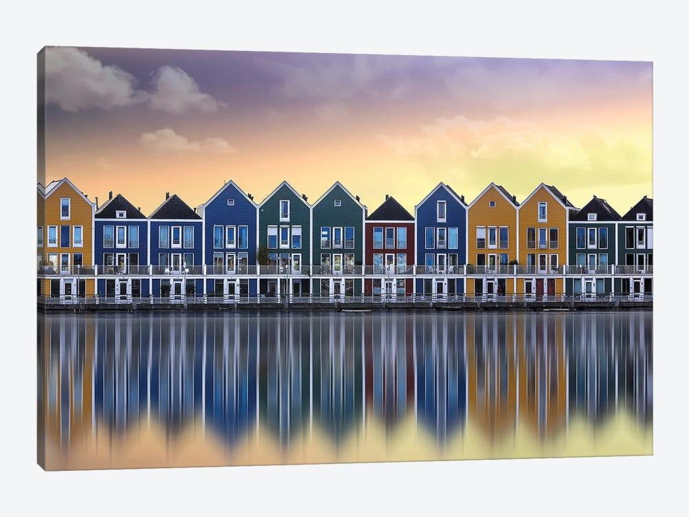 Venixwijk Utrecht by Georges Friant 1-piece Canvas Art