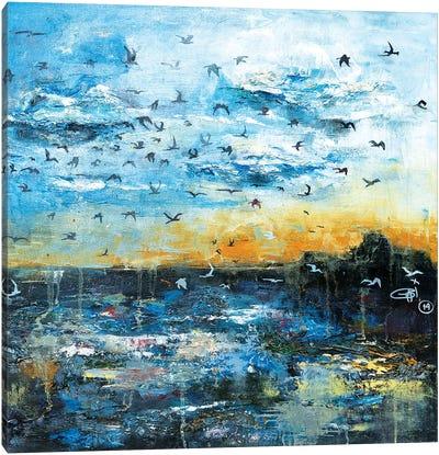 Breath Of The Sun Canvas Art Print