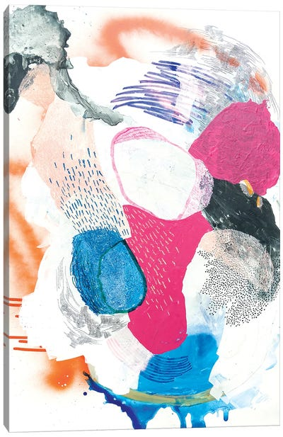 The Lost Wheel Canvas Art Print