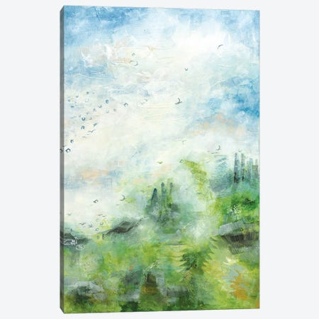 Lucky To Be Alive Canvas Print #GFS22} by Gabriela Fussa Canvas Art