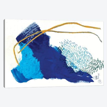 Linear Structure III Canvas Print #GFS3} by Gabriela Fussa Canvas Art