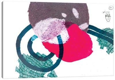 Linear Structure VII Canvas Art Print