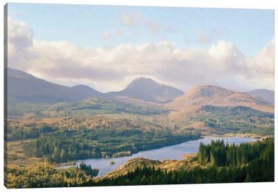 Overlook of the Loche Canvas Art Print