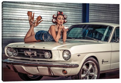 Baby You Can Drive My Car ..... Canvas Art Print