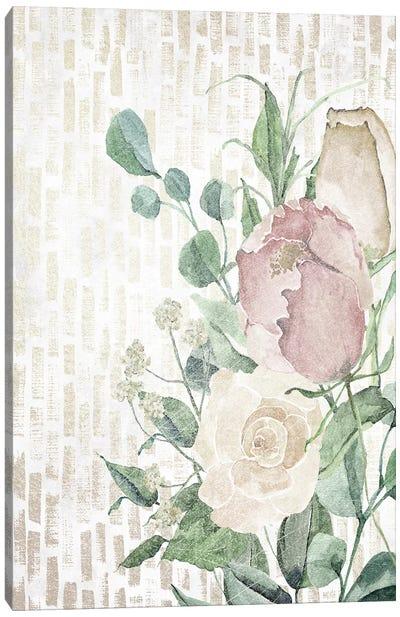 Neutral Flowers II Canvas Art Print