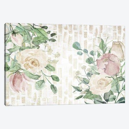 Neutral Flowers III Canvas Print #GGL11} by Gigi Louise Art Print