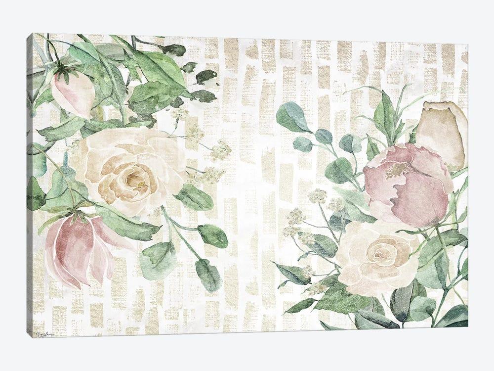 Neutral Flowers III by Gigi Louise 1-piece Canvas Print