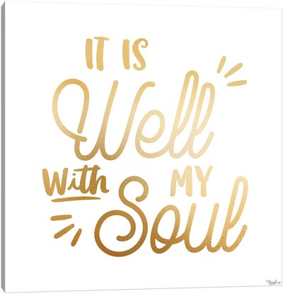 Well Soul Canvas Art Print
