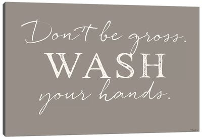 Wash Hands Canvas Art Print