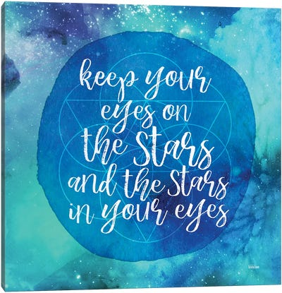Starry Eyes Canvas Art Print