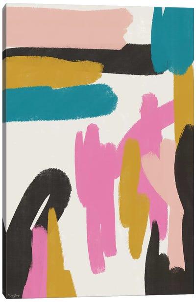 Pink Abstract I Canvas Art Print