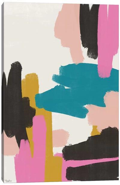 Pink Abstract II Canvas Art Print