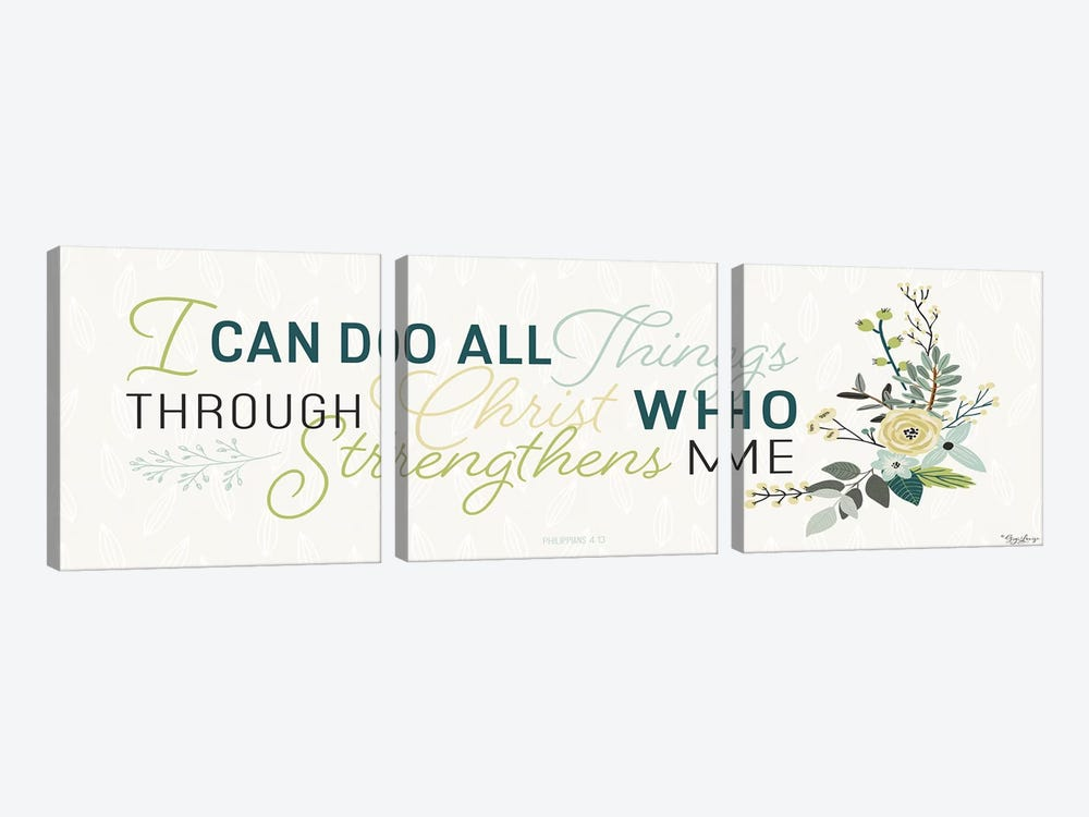 All Things by Gigi Louise 3-piece Canvas Print