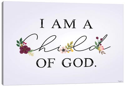 Child of God Canvas Art Print