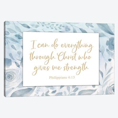 Christ Strength Canvas Print #GGL26} by Gigi Louise Canvas Art Print
