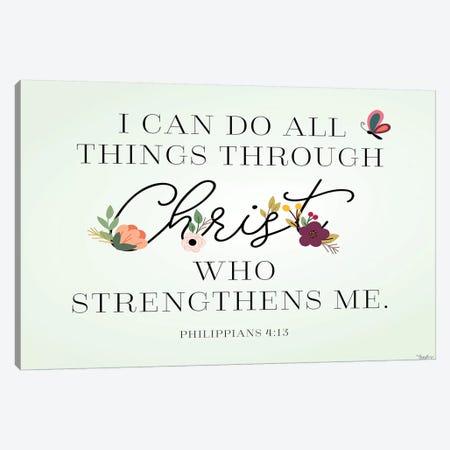 Christ Strengthens Canvas Print #GGL27} by Gigi Louise Canvas Print