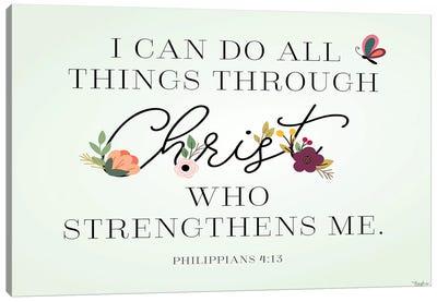 Christ Strengthens Canvas Art Print