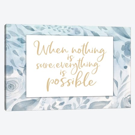 Everything Possible Canvas Print #GGL29} by Gigi Louise Canvas Artwork