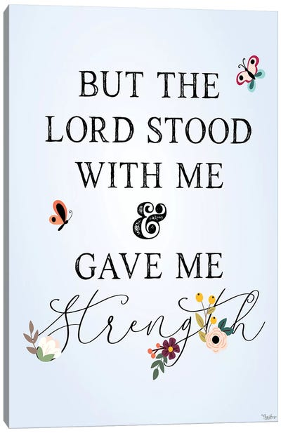 Lord Stood Canvas Art Print