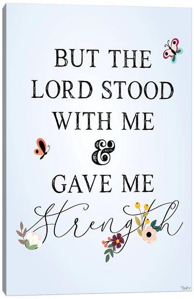 Lord Stood Canvas Art Print