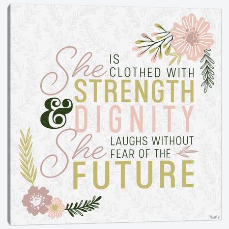 She Strength Canvas Print #GGL32} by Gigi Louise Canvas Print
