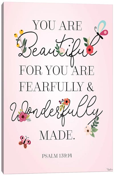 You Beautiful Canvas Art Print